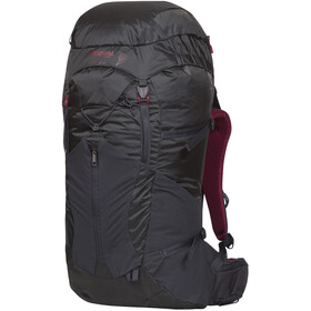 Bergans W's Senja 34 Backpack Solid Charcoal/Burgundy